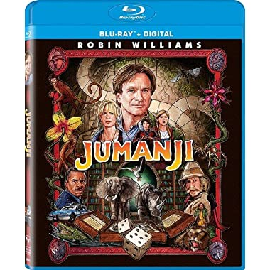 Jumanji (Remastered Blu-ray + Digital)