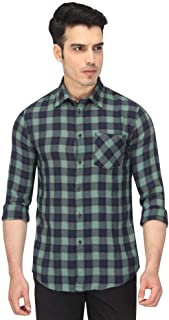 Celio Men's Checkered Slim fit Casual Shirt