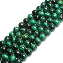 Best green tigers eye beads Reviews
