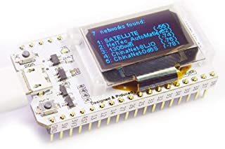 HiLetgo ESP32 OLED WiFi Kit ESP-32 0.96 Inch Blue OLED Display WiFi+Bluetooth CP2012 Internet Development Board for Arduin...