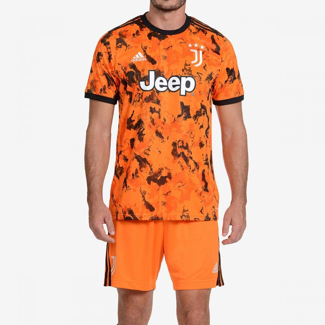 JUVE Juventus Terza Maglia - Personalizzata con Nome e Numero Giocatore - Uomo - Ronaldo Dybala Arthur - Stagione 2020/2021 - Scegli Prima la Taglia
