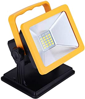OYOCO Rechargeable LED Work Light with Magnetic Base 15W 6.5H Lighting Battery Powered Waterproof Spotlights Outdoor Campi...