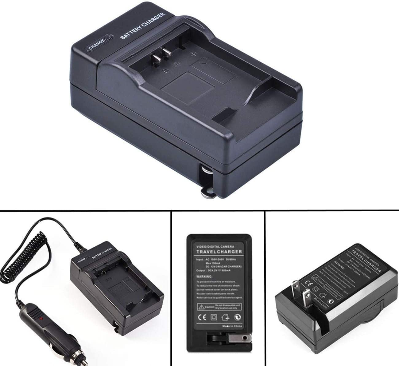DCR-PC8 LCD Quick Battery Charger for Sony DCR-PC6 DCR-PC115 MiniDV Handycam Camcorder DCR-PC9