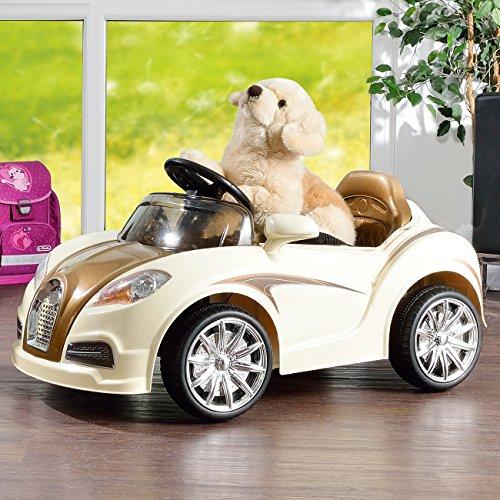 RC Kinderauto kaufen Kinderauto Bild 1: Playtastic Kinderelektroauto: Edles Elektro-Kinderfahrzeug mit Fernsteuerung (Kinderauto)*