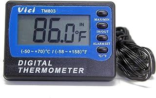 A803 Fridge Freezer thermometer 2 sensors ºC ºF ± 1ºC 3m cable min max