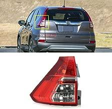 MotorFansClub Tail Light Lamp for Honda CR-V CRV RM1 RM3 RM4 2015-2016 Left Driver Side (US Shipment)