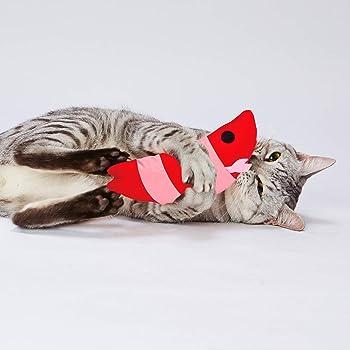 ペティオ (Petio) 猫用おもちゃ 仔猫用けりぐるみ 子エビ