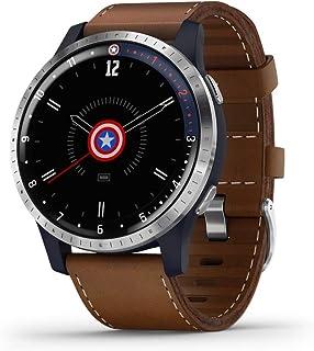 Garmin Legacy Hero Series, Marvel Captain America Inspired Premium Smartwatch, Includes a Captain America Inspired App Experience