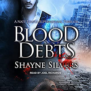 Blood Debts audiobook cover art