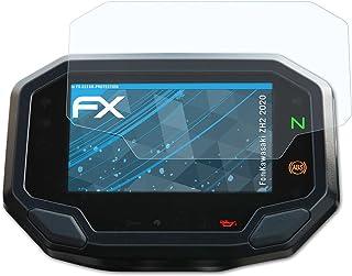atFoliX Schermbeschermer compatibel met Kawasaki ZH2 2020 Beschermfolie, ultra-helder FX Schermfolie (3X)