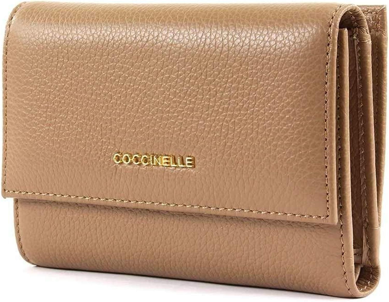 COCCINELLE Wallet METALLIC SOFT Female Leather Desert  E2DW5116601N02