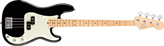 Fender American Professional Precision Bass - Black with Maple Fingerboard