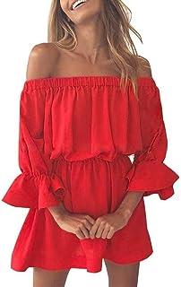newest 5ba0b 8d172 Amazon.it: vestitini rossi