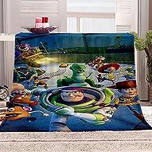 ZZFJFQ Franela Lana Manta Animales de Dibujos Animados Suave Mantas y Tiros,Felpa Liviano Decorativa Manta para Diván Sofá Cama Mascotas 130x150cm