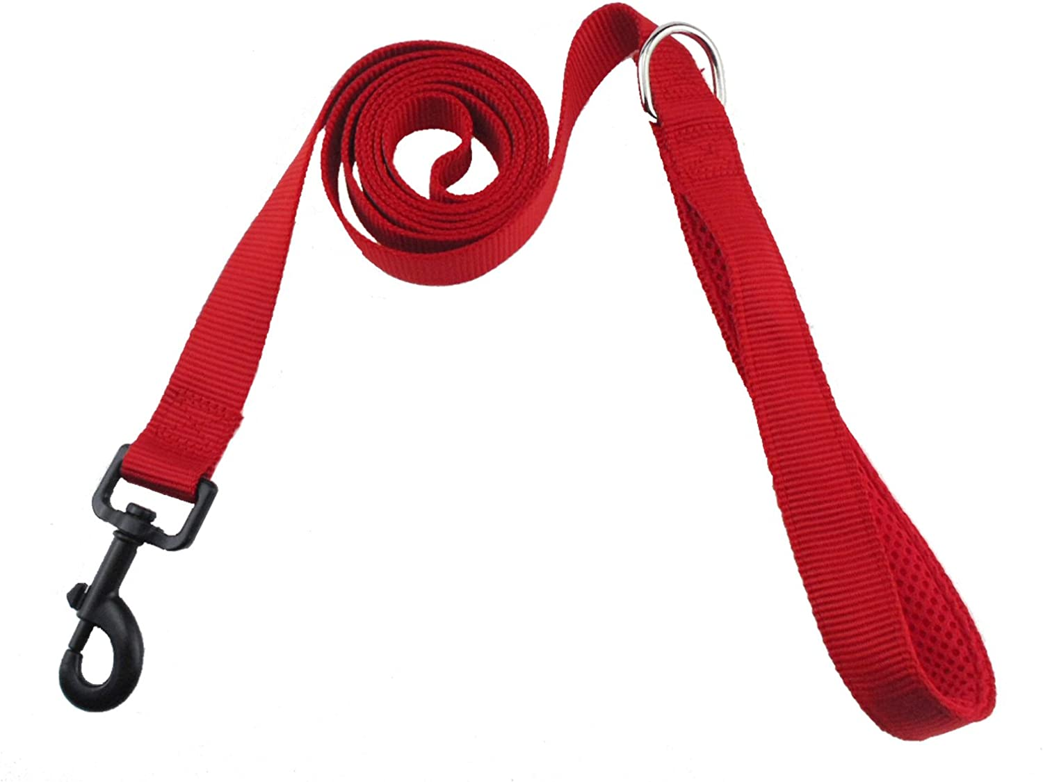 Dog Leash,Strong Durable Nylon Dog Leash,Dog Traction Rope,6ft Long Traction Rope, Training Leash, Great Control Safety Walking,Training,Play,Camping,Perfect Small, Medium Large Dogs