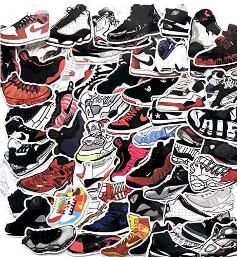 Flying Man Aj Sticker Cartoon Tide Brand Luggage Suitcase Jordan Sneakers Sneaker Waterproof Car Stickers 100