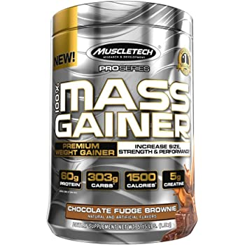 MuscleTech Pro Series Mass Gainer, Chocolate, 5.15 Lbs, 5 Pound