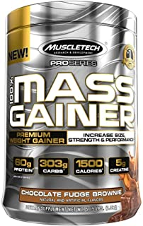 MuscleTech Pro Series Mass Gainer, Chocolate, 5.15 Lbs