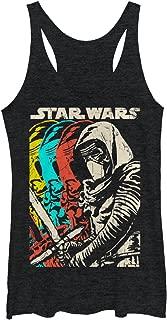 Star Wars The Force Awakens Women's Episode VII Kylo Ren Copies Racerback Tank Top