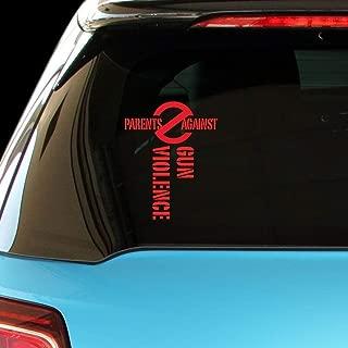 PressFans - Parents Against Gun Violence Car Laptop Sticker Decal