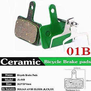 MXECO Pastillas de Freno de Disco de Bicicleta de Resina Sram Avid MTB Pastilla de Freno hidr/áulico semimet/álica 1 par P196BP