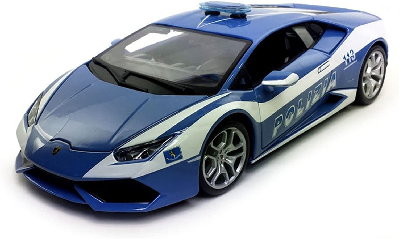 Lamborghini Huracan LP610-4 Police 1 18 by Bburago 11041 by Bburago