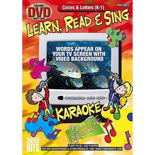 Emerson Toys Colors & Letters Karaoke DVD