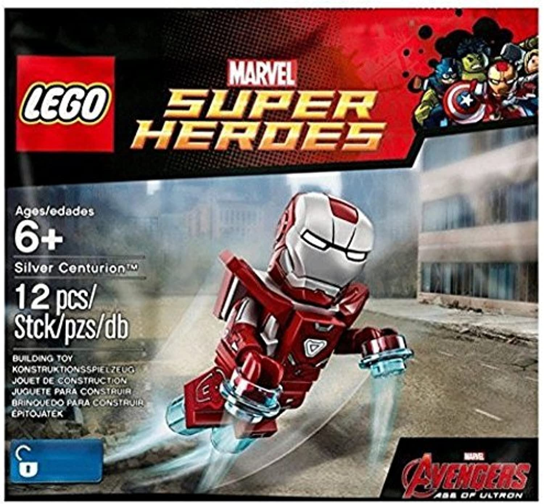 Lego Marvel Super Heroes Iron Man Silver Centurion (5002946)