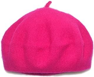 Kids Wool French Beret - Little Girls Artist Beret Hat