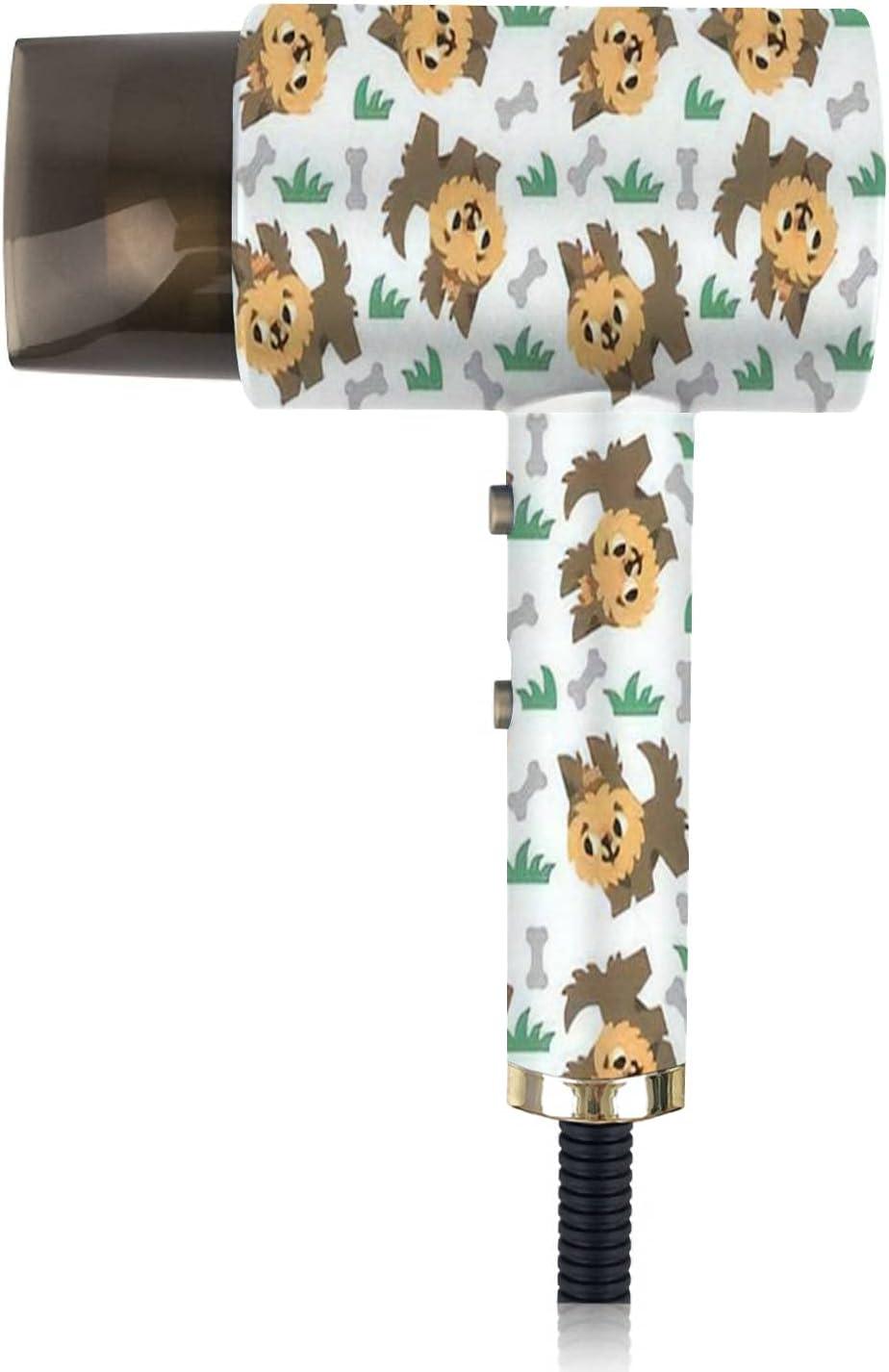 Spasm price Ionic Hair Dryer Yorkshire Terrier Portable Pattern List price Dog Seamless