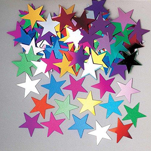 Amscan 9900487 Jumbo-confetti 14 g stervorm metallic