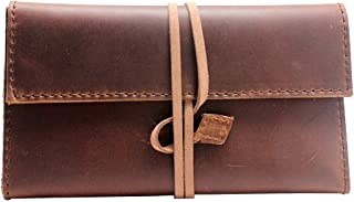 Best leather tobacco pouch with paper holder Reviews