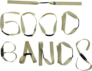 GM&BW Slingshot Flat Bands,Catapult Elastics Made from Thera-Band Golden Precise Professional Players Hunting Catapult,Pack of 9 10,OTT TTF
