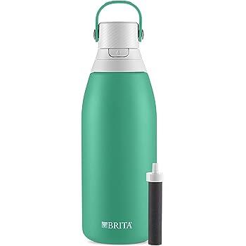 Brita Water Filter Bottles, 32 oz, Jade
