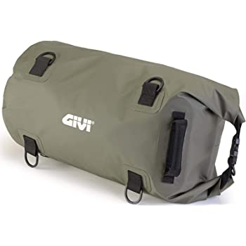 Givi EA115BY Waterproof Roll Bag Seat Tail Holdall Black Red moto motorcycle 40L