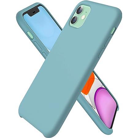 Ornarto Kompatibel Mit Iphone 11 Silikon Case Hülle Ultra Dünne Flüssig Silikon Handyhülle Schutz Für Iphone 11 2019 6 1 Zoll Kaktus Elektronik