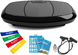 Best Bluefin Fitness Dual Motor 3D Vibration Platform | Oscillation, Vibration + 3D Motion | Huge Anti-Slip Surface | Bluetooth Speakers | Ultimate Fat Loss | Unique Design | Get Fit at Home Review