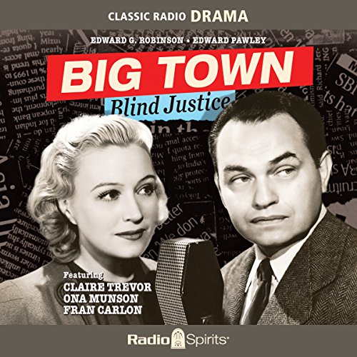 Big Town: Blind Justice audiobook cover art
