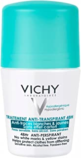 Vichy Desodorante anti transpirant 48H Roll On, 50ml