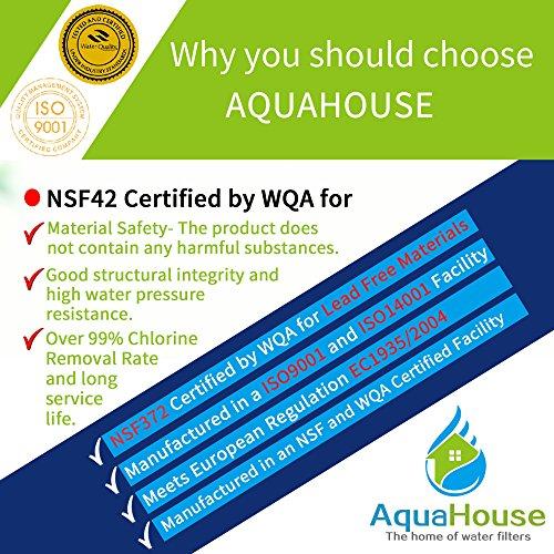 Whirlpool Kühlschrank Wasserfilter Kompatibel Mit SBS002, S20BRS, 4396508, 481281729632 - 4