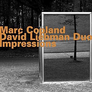 Marc Copland - David Liebman Duo: Impressions