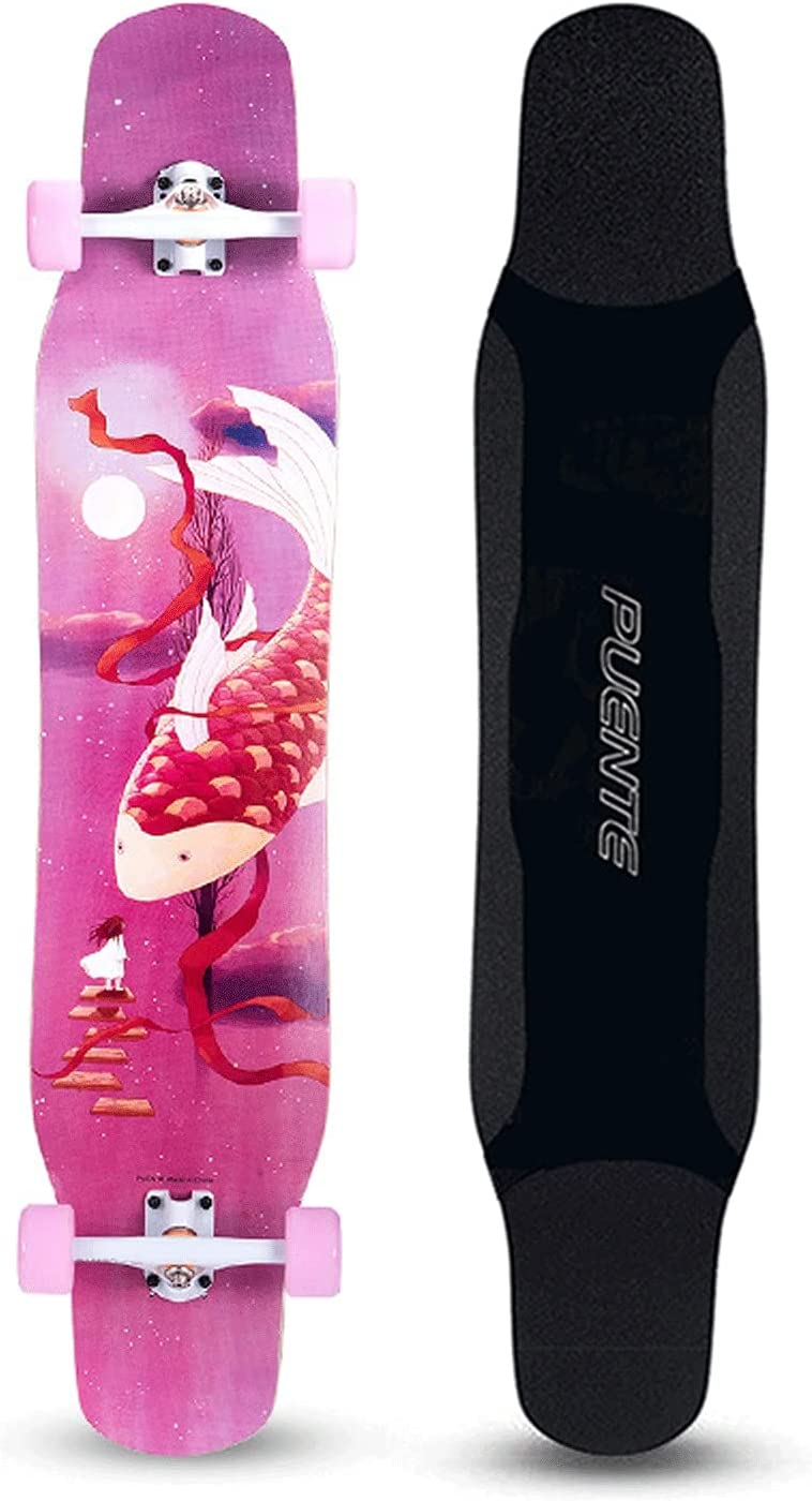 EEGUAI 46inch Skateboard 8 Layer Complete Super intense SALE Longboard Maple Comple Regular store
