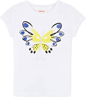 Catimini Little Girls Pretty Hello Butterfly Tee Shirt