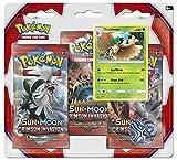Pokemon USA, Inc. POK80251 Sun & Moon 4 Crimson Invasion Triple Pack Booster: Pokemon TCG, Multicoloured