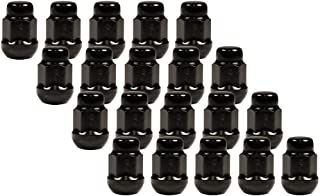 CECO Radius (Ball) Seat Black Lug Nut Installation Kit (20 Nuts) 12mm 1.50 Thread Pitch 1.37