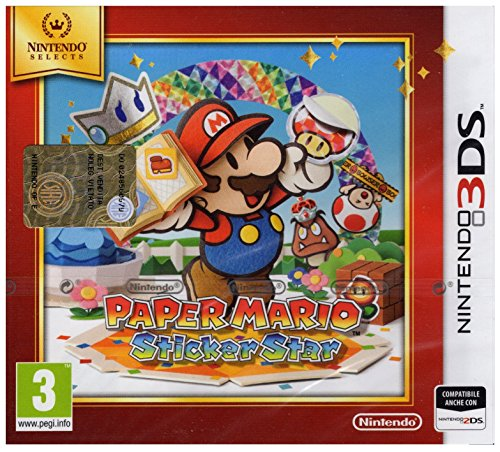 Paper Mario: Sticker Star - Nintendo Selects - Nintendo 3DS