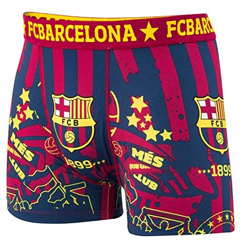 FC Barcelona - Pantalón oficial para hombre, talla de adulto, multicolor, medium