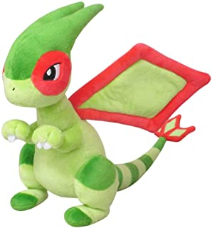 Sanei Boeki Pokemon All Star Collection Flygon Libégon Libelldra PP173 (S) Plush Toy Peluche (Height 8.66 inches)