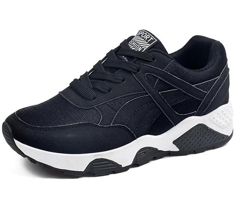 改善だらしない抽象[チェリーレッド] メンズ レディース スポーツ スニーカー トラベル ランニング 運動靴 歩きやすい 通気
