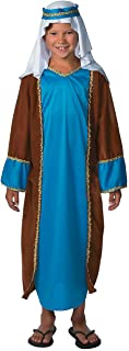 Deluxe Child Joseph Costume for Christmas - Apparel Accessories - Costumes - Kids - Boys Costumes - Christmas - 1 Piece Blue